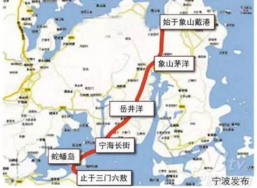 三门湾大桥及接线工程(宁波段)正式
