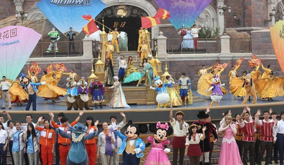 上海迪士尼乐园举行盛大开幕典礼