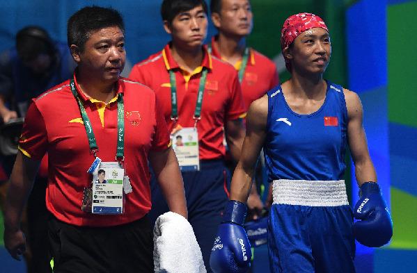 宁波选手任灿灿获拳击铜牌 遗憾但享受奥运快乐
