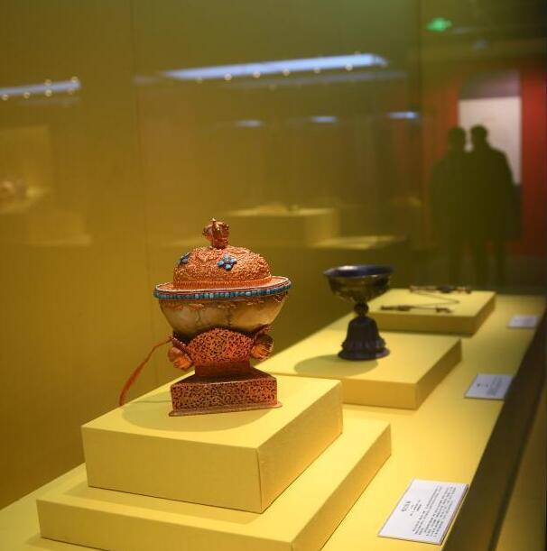 西子湖邂逅雪域文明 藏族艺术瑰宝于浙江展出