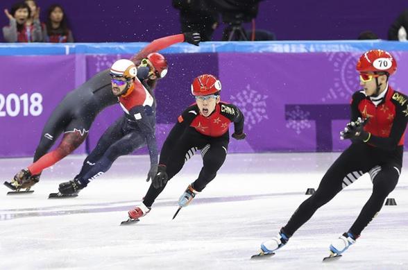 冬奥会丨短道速滑——男子5000米接力:中国队晋级决赛