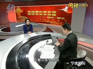 访江北区区长丁晓芳
