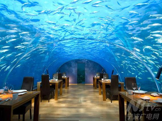海底餐厅(马尔代夫港丽岛)