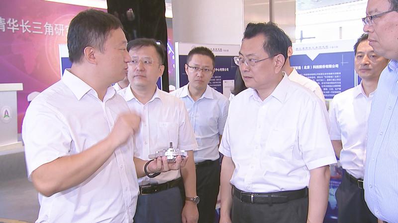 浙江清华长三角研究院宁波分院成立 3批拟入驻项目现场签约