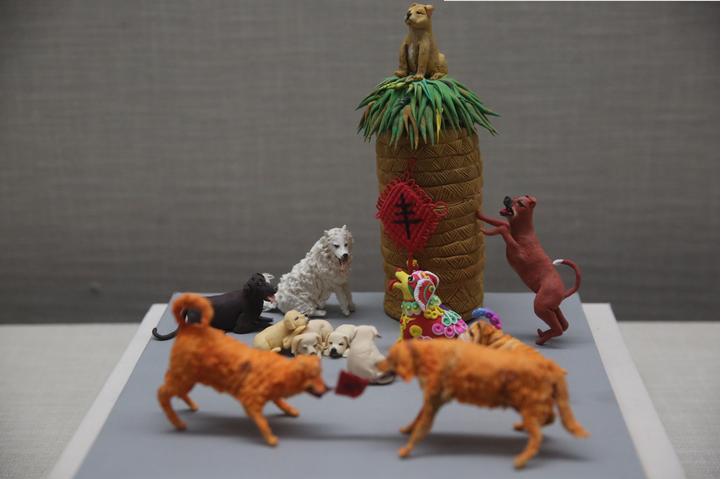 """旺狗送福,宁波博物馆的这群""""狗""""很萌"""