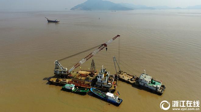 甬舟铁路钻探取样 力争明年底前开建