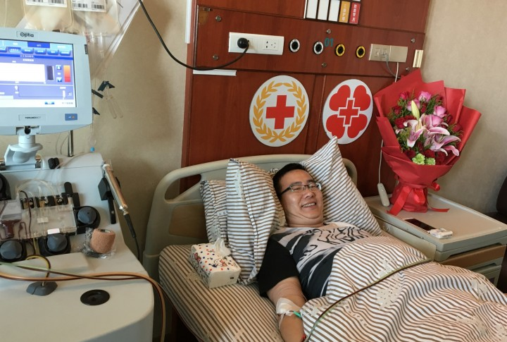 鄞州医生袁永国成功捐献造血干细胞