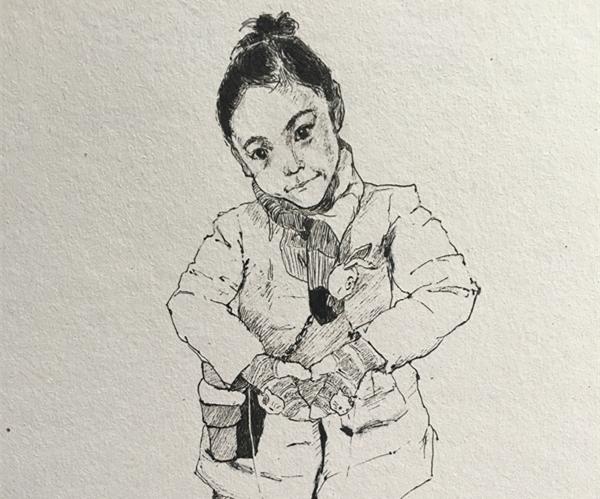 (据浙江新闻客户端)因为自己有兴趣,孩子们也喜欢,就一直坚持画了下来。近日,绍兴市塔山中心小学的班主任老师陈克拉成了圈子里的网红,她用一支普通的签字笔,为班上的45名学生一一绘制了独特的肖像画,受到了孩子们的家长的欢迎。