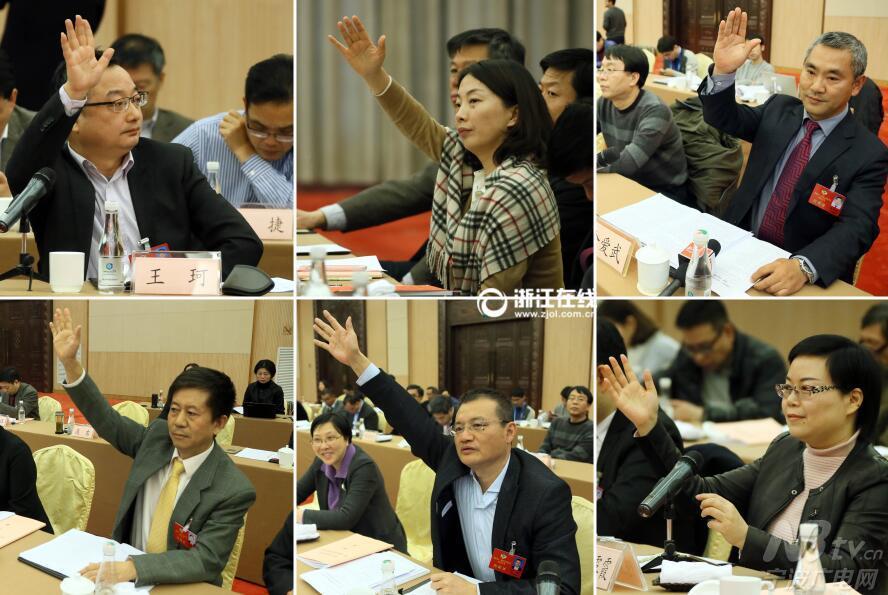 关注省两会:政协委员踊跃发言 献计献策