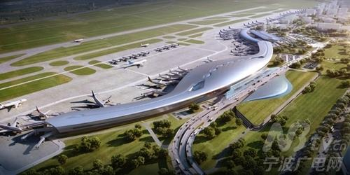 "T2航站楼全面进入钢结构施工 ""贝壳""将亮相"