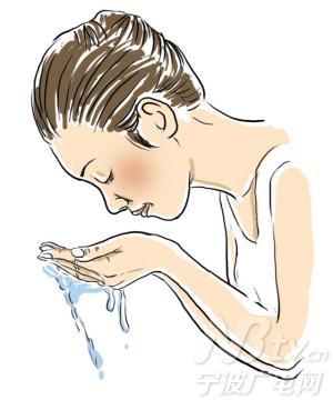 孩子自己刷牙洗脸卡通图片展示