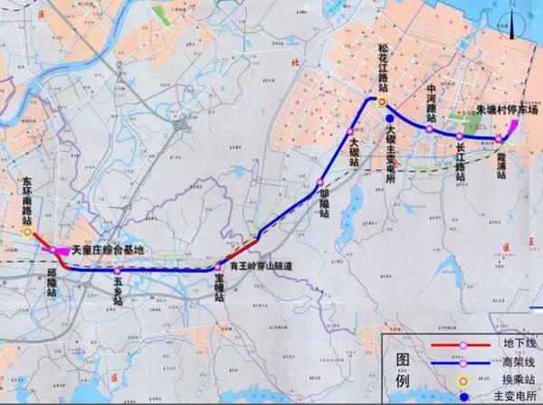 宁波轨道交通1号线二期来啦 沿线景点抢先看图片