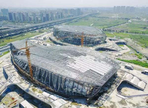 期待!宁波奥体中心模样有了 有望明年投入试运营