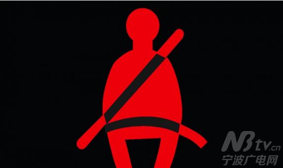 带未系提示灯的图标也很直观就可以看出来,将它列入新手开车必懂的