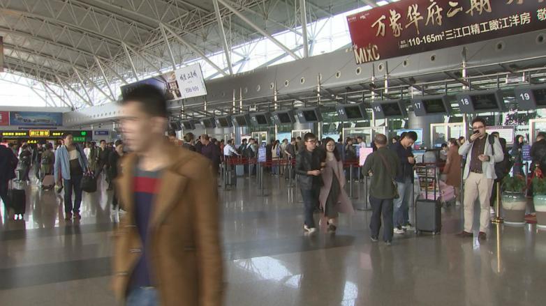"""宁波机场""""阳光服务"""" 十年服务400余万旅客"""