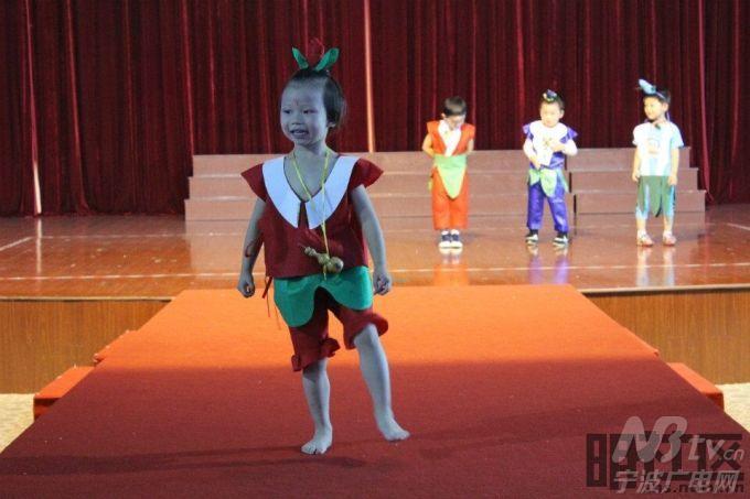 幼儿园环保服装首秀