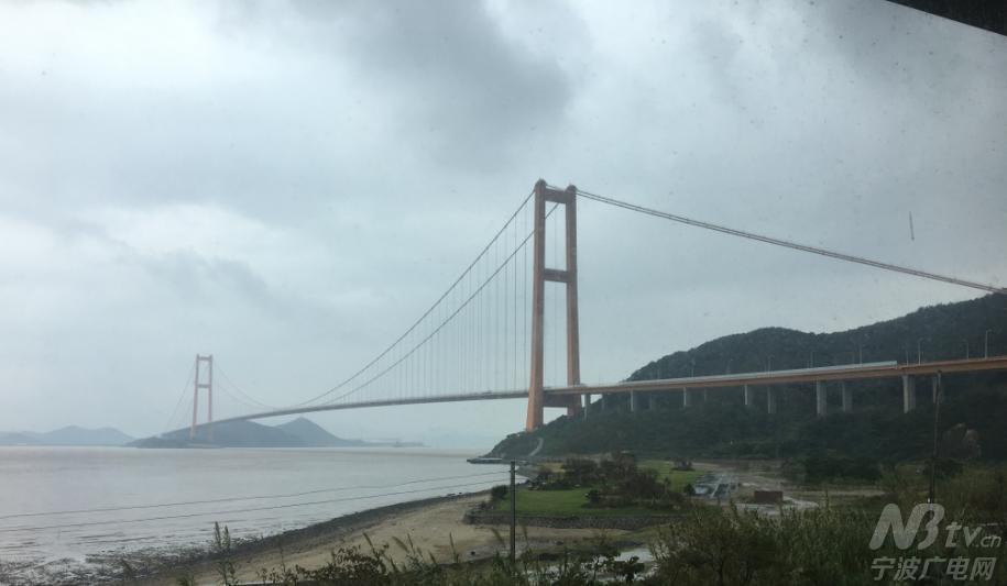 舟山西堠门跨海大桥.-跟随记者的脚步走 海上丝绸之路 看浙江省海洋