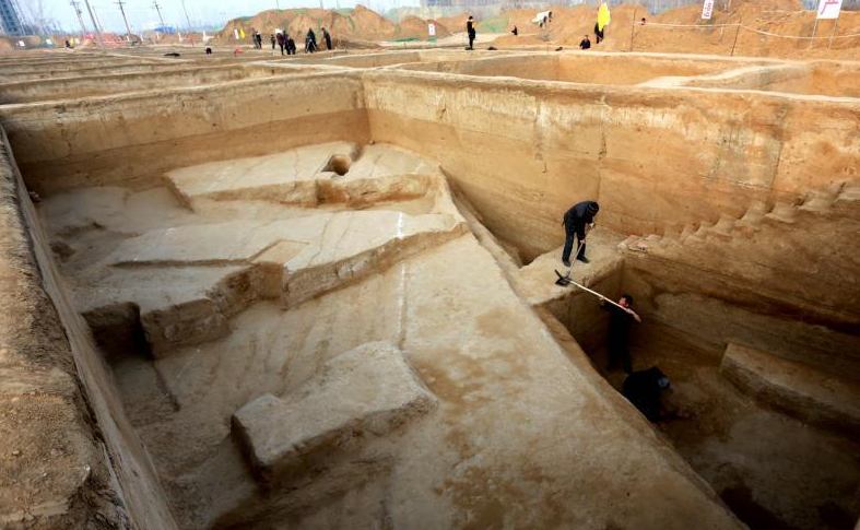河南发现首个春秋战国都城瓮城